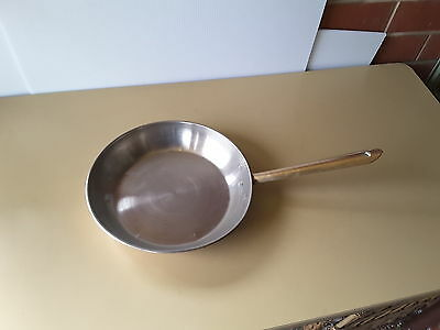 Copper Frying Pan / Skillet with brass handle KITCHEN