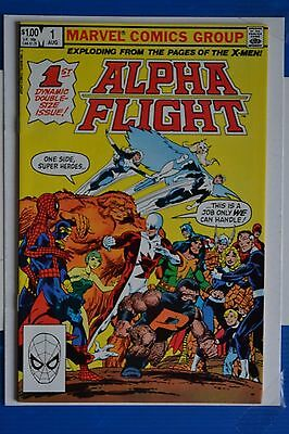 Alpha Flight # 1 : Near Mint : Aug 1983 : Marvel Comics: {Comic Books}