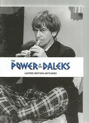 Doctor Who Power of the Daleks Postcards / Art Cards