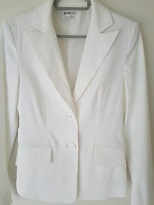 Table Eight (Sport Eight) White Blazer. Fully Lined. Size 8