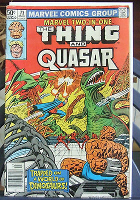 Marvel Comics Present Marvel two in One The Thing & Quasar Vol 1 #73 Mar 1981