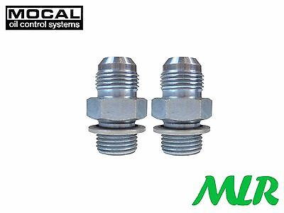 Mocal Mms0-8-10 An -10 Jic Oil Cooler Remote Filter Sandwich Plate Fittings Aau