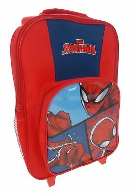 Spiderman 'Abstract' Premium School Travel Trolley Roller Wheeled Bag New Gift