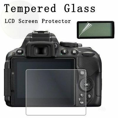 Tempered Glass LCD Screen Protector Camera Guard Film For Canon EOS 70D 80D