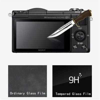 Tempered Glass LCD Screen Guard Protector Film For Sony Alpha A6000 A6300 A6500
