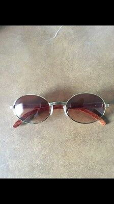 Cartier Gold & Wood Glasses