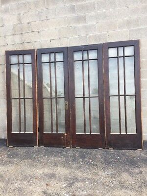 Cm 203 Antique Double Door With Sidelight Arts And Crafts Doors