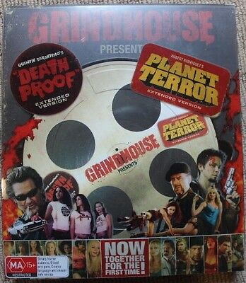 Grindhouse Presents Death Proof Extended Edition, Planet Terror Extended Version