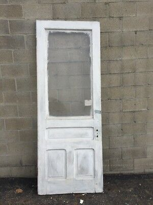 Cm 213 Antique Entrance Door 36 X 95 And Three-Quarter