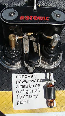 rotovac powerwand armature carpet cleaning