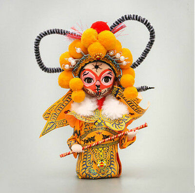 Beijing Opera Facial Doll Chinese Gift  Sun Wukong The Monkey King