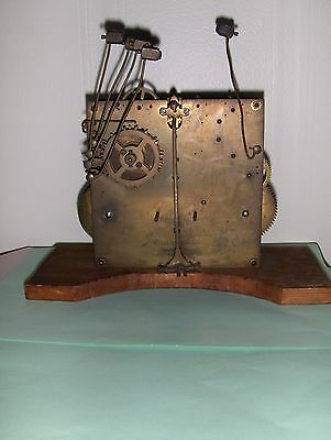 Antique Clock Movemement Kienzle Uren Made In Germany Rare