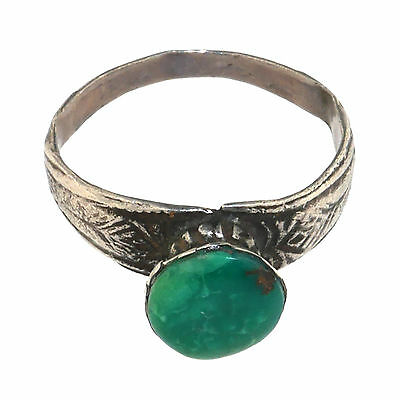 (1690) Afghan Antique ring in silver