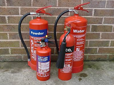 fire extinguishers for training