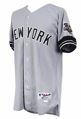 6876b28e896 2001 Alfonso Soriano NY Yankees World Series Game Used Jersey With Mears COA