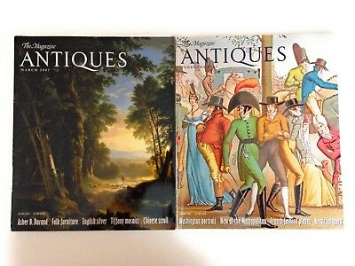 lot of 2 The Magazine Antiques Feb Mar 2007