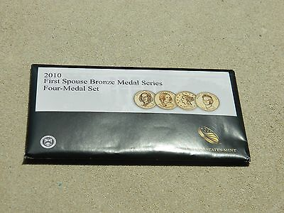 2010 First Spouse Bronze Medal Series Four Medal Set