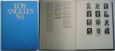 Orig.Book / Report      Olympic Games LOS ANGELES 1984   !!!     VERY RARE