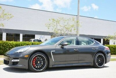 2012 Porsche Panamera  2012 PANAMERA TURBO - $151,710 MSRP - LOADED WITH OPTIONS -RARE COLORS - FLORIDA