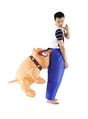 Bestparty Inflatable Fancy Adult Carry On Animal Halloween Cosplay Dress Costume