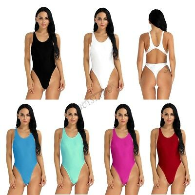 Sexy Women's One-Piece Bikini Swim Monokini Yoga Leotard Thong Bodysuit Swimsuit