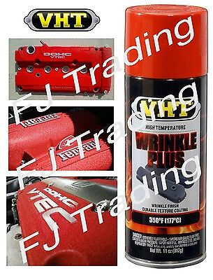 Red Vht Wrinkle Plus Coating