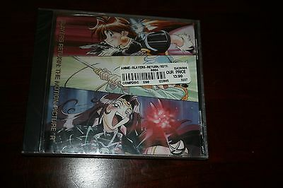 """NEW SEALED CD: Slayers Return The Motion Picture """"R"""" 1996"""
