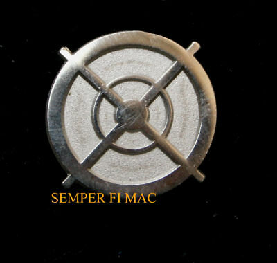 Sniper Scope Lapel Hat Pin Up Us Army Marines Navy Air Force Uscg Rifle Pistol