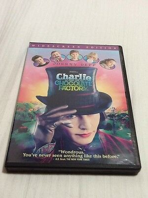 Charlie and the Chocolate Factory (DVD, 2005, Widescreen) Tested