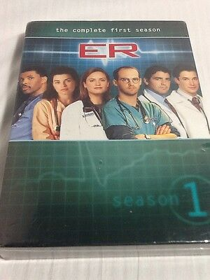 ER - The Complete First Season (DVD, 2011, 7-Disc Set) New & Sealed