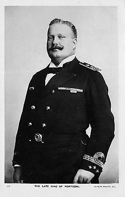 The Late King Of Portugal Carlos I c1908 Postcard by Rotary Photo London