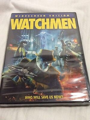 Watchmen (Widescreen Single-Disc Edition,DVD,2009) New & Sealed