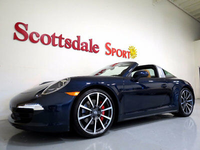 2014 Porsche 911 ONLY 3K MILES * BEST COLOR, BEST MILES, BEST OPTIO 2014 CARRERA TARGA 4S * ONLY 3K MILES * BEST COLOR, BEST MILES, BEST OPTIONS!!!
