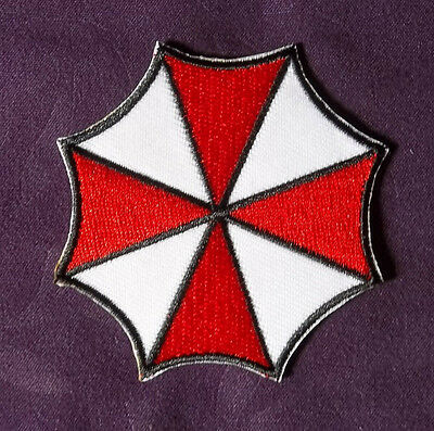 Umbrella Corporation Resident Evil Embroidered Patch Sci-Fi Horror Diy