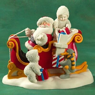 DEPT 56 Snowbabies Santa Claus is Comin' to Town 69697