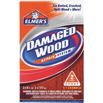 Elmer's Damaged Interior / Exterior Wood Epoxy Repair System Kit E761Q