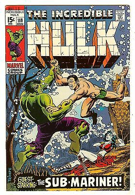 Incredible Hulk 118   Hulk vs Sub-Mariner