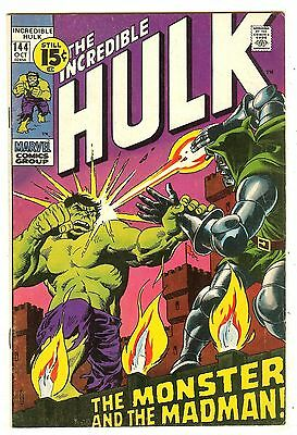 Incredible Hulk 144   Doctor Doom