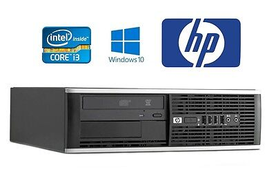 Fast HP Intel Core i3 4GB RAM 250GB HDD Windows 10 PC Desktop