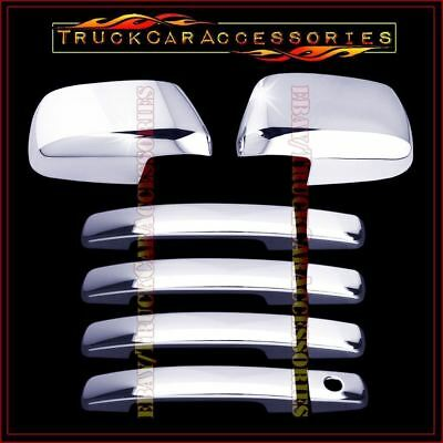 05-12 FOR NISSAN FRONTIER 4DRS W//O PSGKH+TAILLIGHT CHROME ABS COVERS