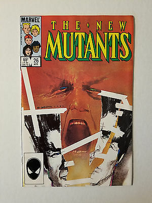 The New Mutants #26 , 1st Full App Legion High Grade Comic Book ( Marvel 1985 )