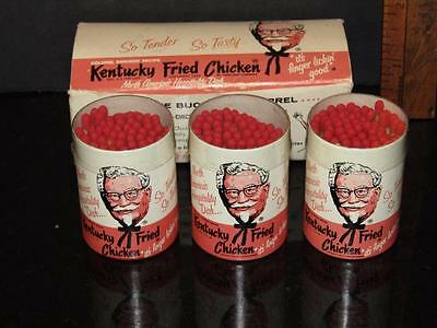 Box of 3 Kentucky Fried Chicken Matches NEW IN BOX UNUSED