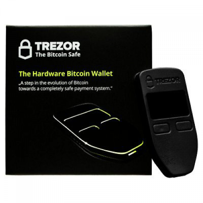 TREZOR - The Bitcoin Safe (Black)