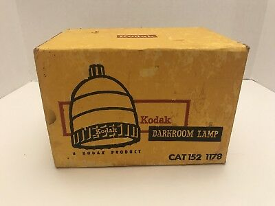 Kodak Darkroom Lamp 1521178 With OC Filter 1521438  Made In USA