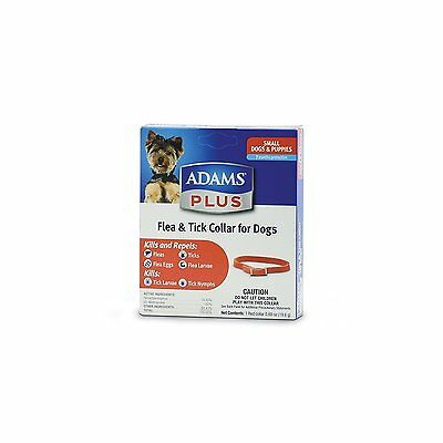 Adams Plus Dog Flea and Tick Collar Small