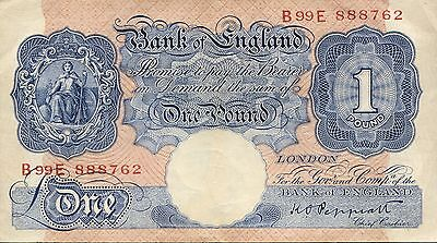 Great Britain - Bank of England P-367a 1 Pound  VF-XF