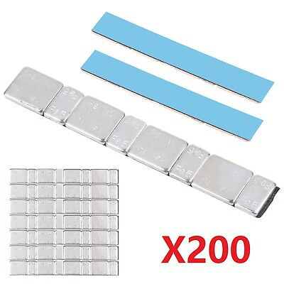 200 Adhesive Lead Free 60G Strips Stick On Wheel Balance Weights Top Quality