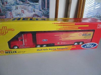 Classic Carlectable Shell Helix Racing Transporter Dick Johnson Racing