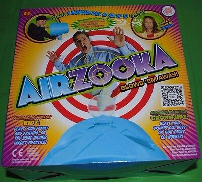 BRAND NEW AirZooka - Blows 'Em Away-A Harmless Ball of Air Up To 20 Feet - Black