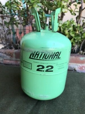 National 22 Freon Partial 23.5 Lbs Out Of 30